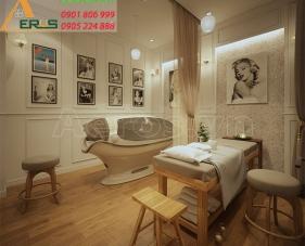 Thiết kế nội thất spa Hera Beauty - quận 6
