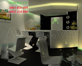 Thiết kế nội thất spa Sunrise - quận 8