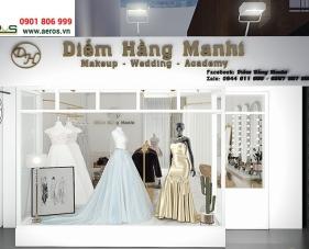 Thiết kế nội thất tiệm áo cưới Diễm Hằng Manhi - Bình Dương