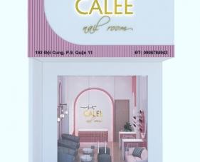 Thiết kế nội thất tiệm nail đẹp CALEE - Quận 11