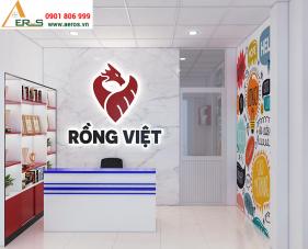 Thiết kế nội thất trung tâm anh ngữ Rồng Việt - Tân Bình