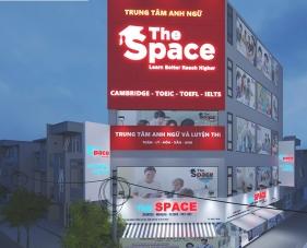 Thiết kế nội thất trung tâm Anh ngữ The Space - Tân Phú