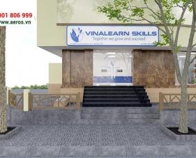 Thiết kế nội thất trung tâm anh ngữ Vinalearn Skills - Tân Phú
