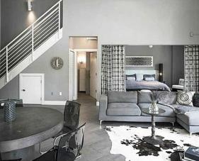 10 Ý tưởng thiết kế phòng khách kết hợp phòng ngủ tận dụng không gian