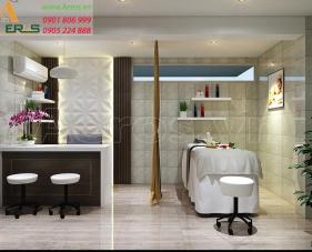 Thiết kế phòng khám da liễu bác sĩ Nguyễn Tất Thắng - quận 5