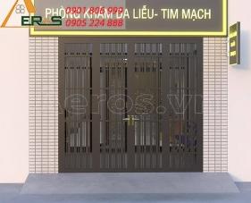 Thiết kế phòng khám da liễu tim mạch Hồng Chuyên - quận 1