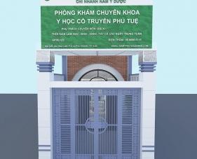Thiết kế phòng khám Y học Cổ truyền Phú Tuệ - Phú Nhuận