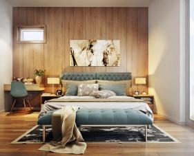 Đẹp và sáng tạo cùng với thiết kế phòng ngủ hiện đại