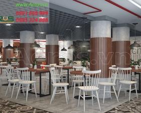 Thiết kế quán cafe Chappi - quận Tân Phú