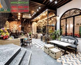 Thiết kế quán cafe Goblin - quận 1