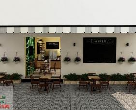 Thiết kế quán cafe Không Gian - quận 12