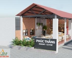 Thiết kế quán cafe Phúc Thắng - Phú Quốc