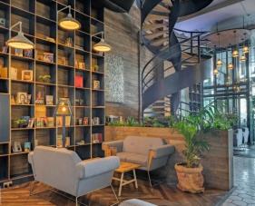 Thiết kế nội thất quán cafe/trà sữa