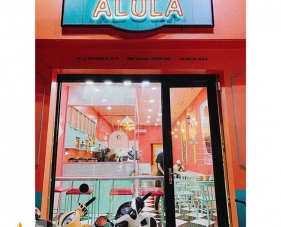 Thiết kế quán trà sữa Alula - Vũng Tàu
