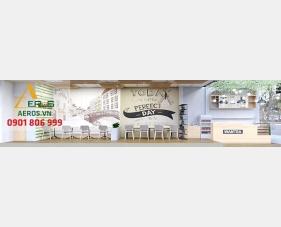Thiết kế quán trà sữa Wantea - Tân Phú
