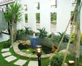 Một số mẫu thiết kế sân vườn nhỏ đẹp cho ngôi nhà của bạn