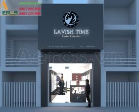 Thiết kế shop đồng hồ Lavish Time - Quận 3