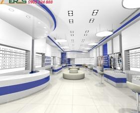 Thiết kế shop mắt kính của chị Trang - quận 5