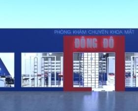 Thiết kế shop mắt kính Đông Đô - quận Tân Bình