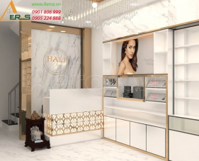 Thiết kế shop mỹ phẩm Hali Group - Tân Bình
