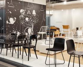 Top 10 mẫu thiết kế showroom ghế đẹp nhất