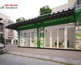 Thiết kế showroom TPCN của anh Hiền - Quận Tân Phú