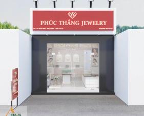 Thiết kế showroom trang sức Phúc Thắng - Phú Quốc