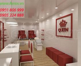Thiết kế spa Queen - quận Gò Vấp