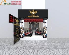Thiết kế thi công hair salon Phong Nguyễn - quận Gò Vấp