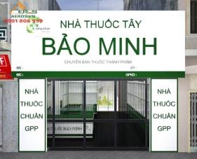 Thiết kế thi công nhà thuốc Bảo Minh - Thủ Đức