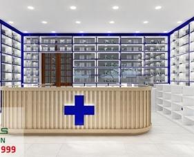 Thiết kế thi công nhà thuốc của chị Liên - Quận 9