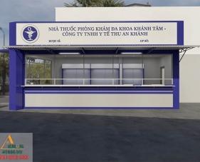 Thiết kế thi công nhà thuốc Khánh Tâm - Nhà Bè