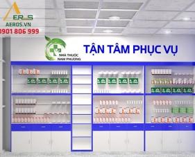 Thiết kế thi công nhà thuốc Nam Phương - Long An