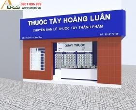 Thiết kế thi công nhà thuốc tây Hoàng Luân - Bến Tre