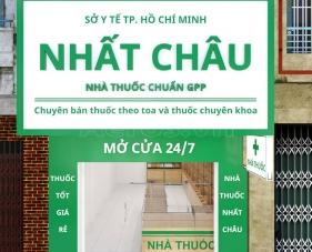 Thiết kế thi công nội thất nhà thuốc Nhất Châu - quận 5