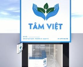 Thiết kế thi công nội thất nhà thuốc Tâm Việt - quận 10