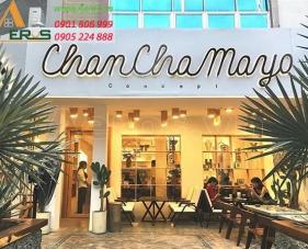 Thiết kế quán cafe Chanchamayo - quận 3