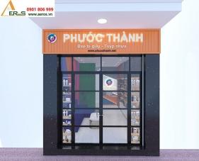 Thiết kế thi công nội thất showroom Phước Thành - Quận 6