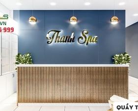 Thiết kế thi công nội thất Thanh Spa - Đồng Nai