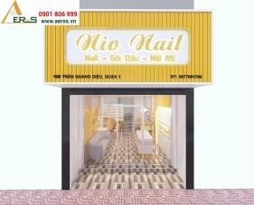 Thiết kế thi công nội thất tiệm nail NIO - Quận 3