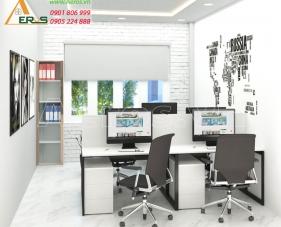 Thiết kế thi công nội thất văn phòng công ty Hali Group - Quận Tân Bình