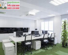 Thiết kế thi công nội thất văn phòng công ty Uban City - Quận 4