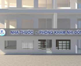 Thiết kế thi công phòng khám bệnh viện Nhi Đồng tphcm