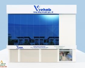 Thiết kế thi công phòng khám của anh Thanh - quận Tân Bình