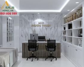 Thiết kế thi công phòng khám Đông y Phước Thịnh - Bình Tân