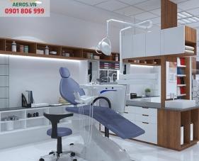 Thiết kế thi công phòng khám nha khoa Anh Kha - Quận 3