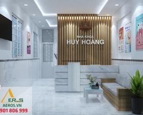 Thiết kế thi công phòng khám nha khoa Huy Hoàng - Quận 2