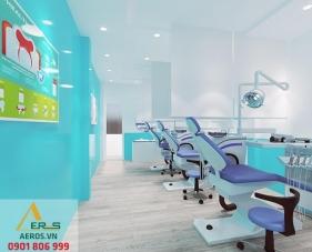 Thiết kế thi công phòng khám nha khoa Nụ Cười Xinh - Quận 7