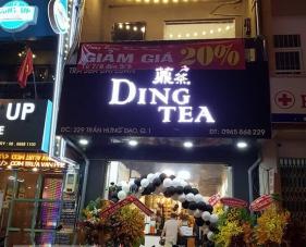 THIẾT KẾ THI CÔNG QUÁN TRÀ SỮA DING TEA, QUẬN 1