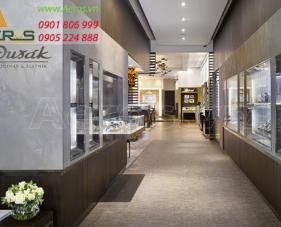Thiết kế thi công shop đồng hồ Dusak - quận 5